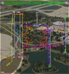 KMCO Orlando International Airport by Nimbus XP10/XP11