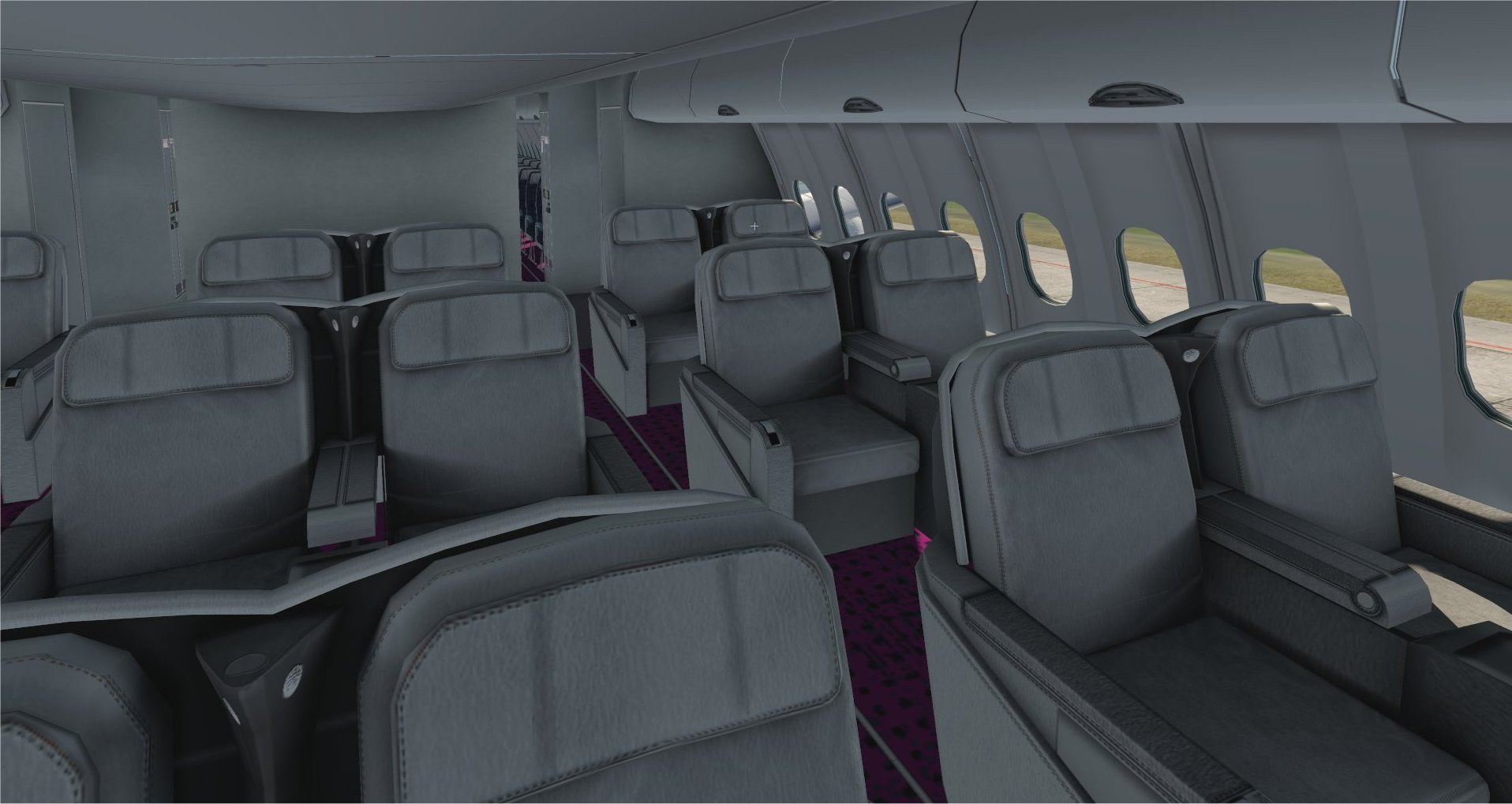 New cabin for livery WOW air A330-300, by Christian Fonck