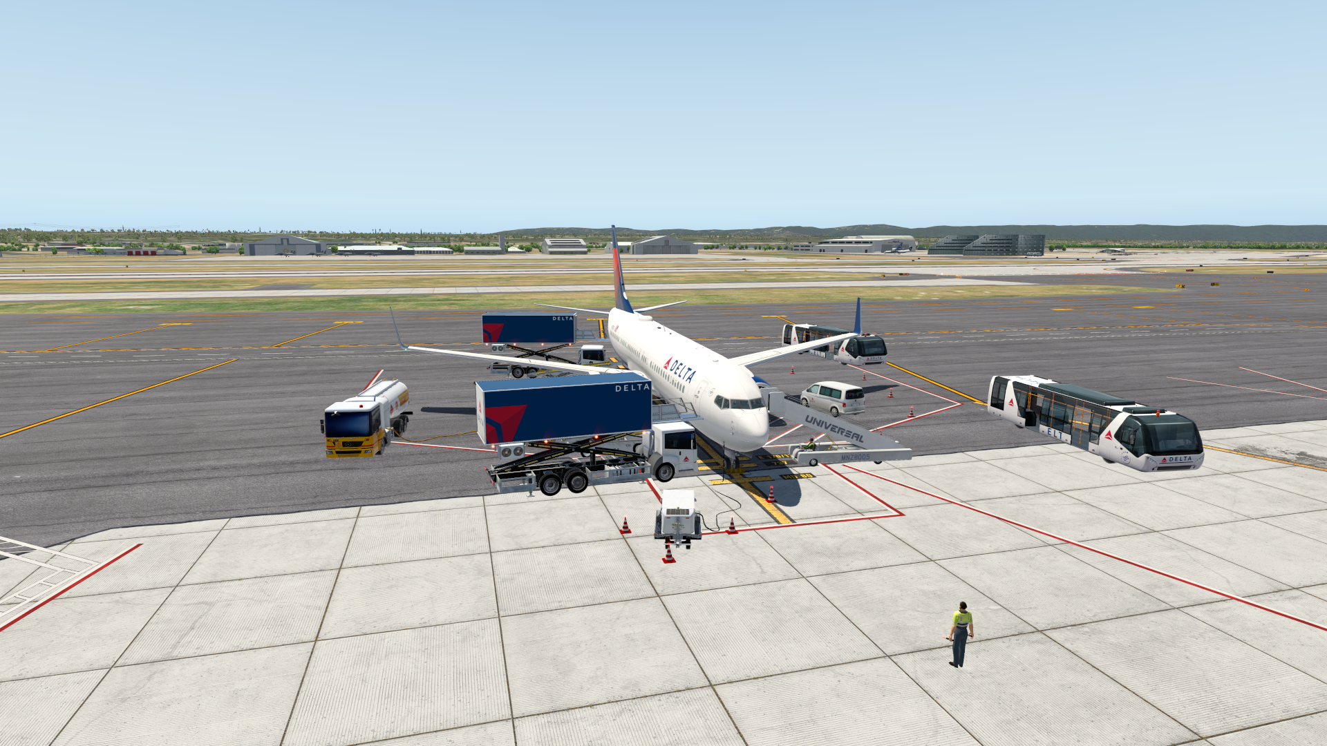 Boeing 737-800 Zibo Set-Package (GATE & RAMP) – SIMLIVERIES