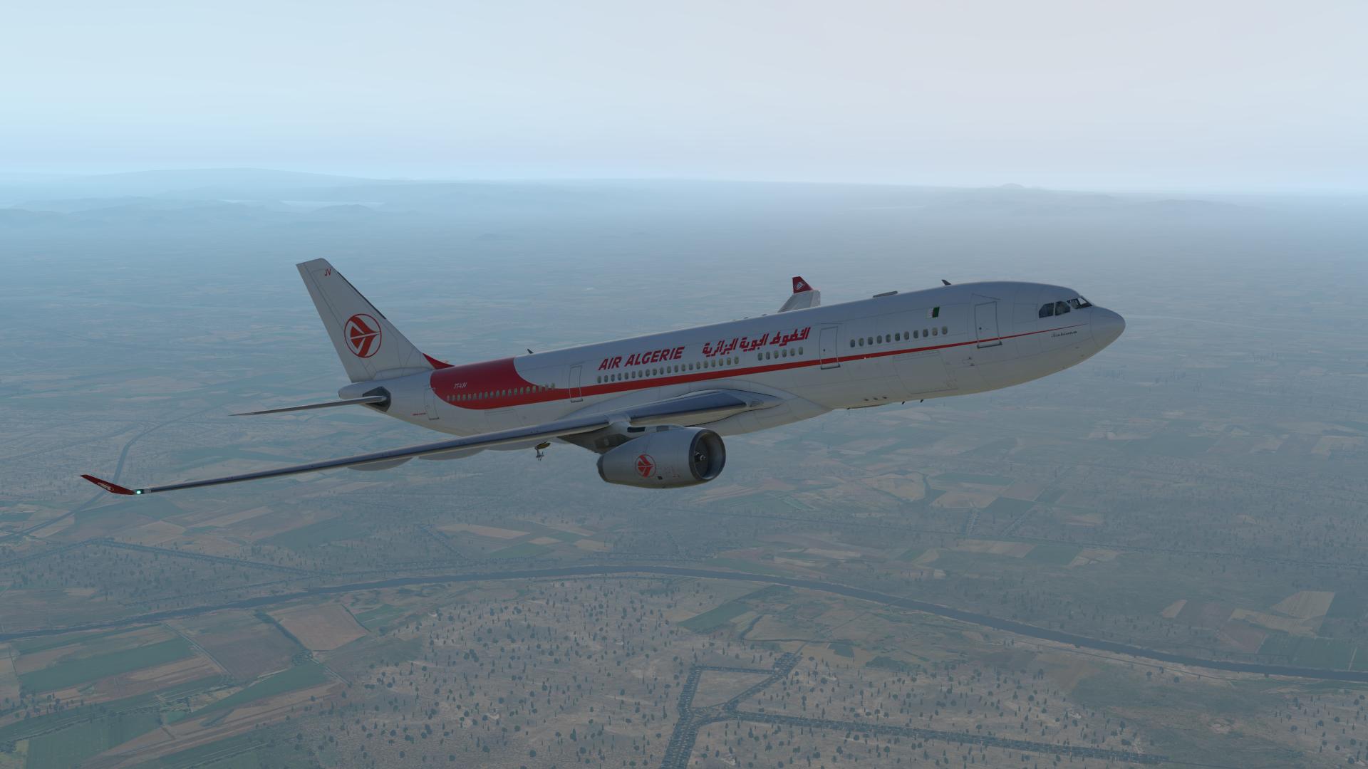 Air Algérie Airbus A330-200 – By Gizmondo – V1 0 – SIMLIVERIES